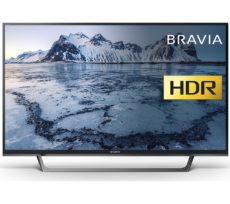 "40"" SONY BRAVIA KDL40WE663BU Smart HDR LED TV, Silver"
