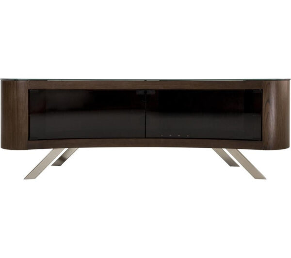 AVF Bay 1500 TV Stand, Walnut