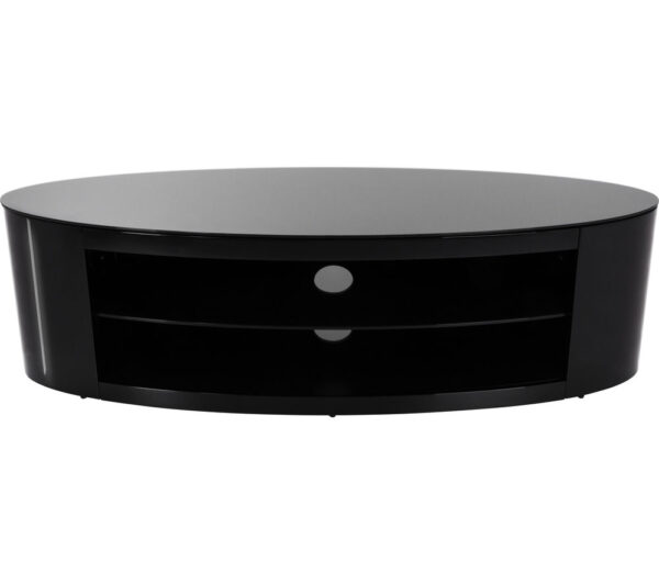 AVF Buckingham 1400 TV Stand - Black, Black