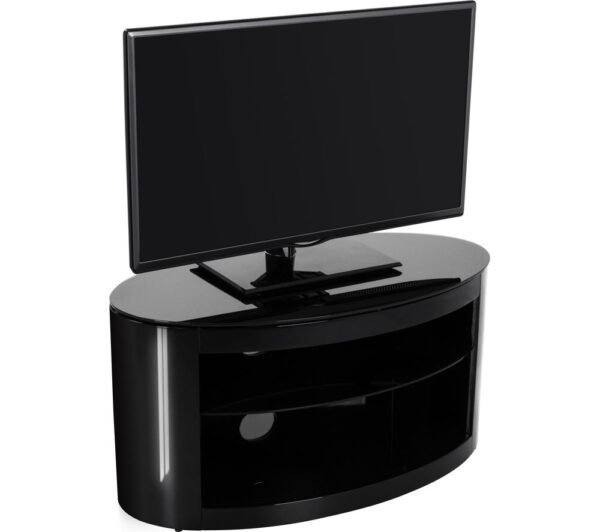 AVF Buckingham 800 TV Stand - Black, Black