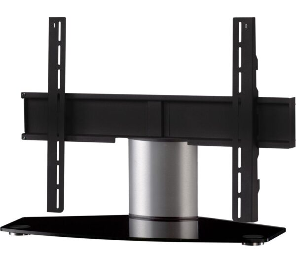 SONOROUS Plasma PL2310 B-SLV 750 mm TV Stand with Bracket - Black & Silver, Black