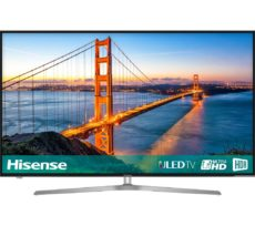 "50"" HISENSE H50U7AUK Smart 4K Ultra HD HDR LED TV, Gold"