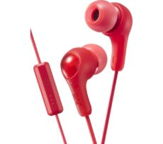 JVC HA-FX7M-R-E Headphones - Red, Red