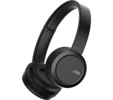 JVC HA-S50BT-B-E Wireless Bluetooth Headphones - Black, Black