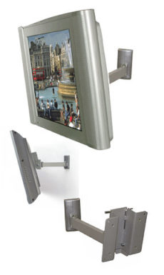 B-Tech BT7512 LCD Wall Mount with Tilt and Swivel - TV and Monitor