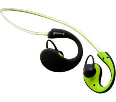 GROOV-E Action GV-BT800-GN Wireless Bluetooth Sport Headphones - Green, Green